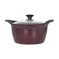 CONCORD PurpleChef  7 Quart Nonstick Stock Pot with Lid - INDUCTION COMPATIBLE