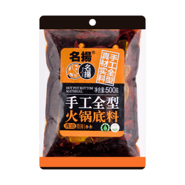 MINGYANG Hot Pot Seasoning (vegetable oil slightly spicy)  500g
