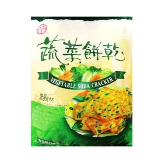 台湾中祥 自然の颜 香葱苏打饼干 量贩包 360g