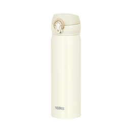 THERMOS 膳魔师||一触式冷热两用轻量便携真空隔热保温杯||白色 500ml 1个