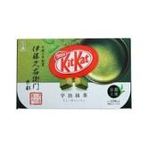 【日本直邮】日本名菓 KIT KAT地域限定系列 京都宇治抹茶风味巧克力威化 12枚装
