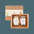 台湾MAGNET曼宁 花茶丰彩礼盒 乌龙菊花茶 x 玫瑰红枣茶 20包*2罐