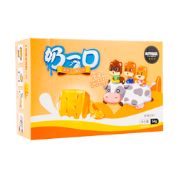 【2 Pack】THREE SQUIRRELS Dried Yogurt Snack - Peach Flavor 54g*2