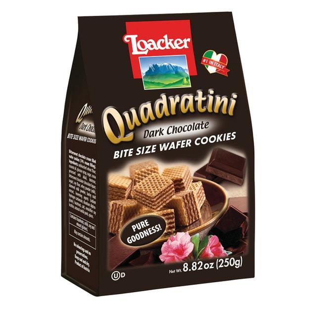 商品详情 - LOACKER乐可 威化饼干 黑巧克力味 250g - image  0
