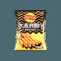 百事LAY'S乐事 大波浪薯片 香脆烤鸡翅味 袋装 包装随机发