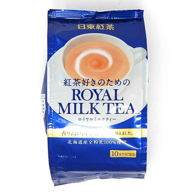 Product Detail - NITTO ROYALMilk Tea Hot Cold Nitto Kocha 10 Pouch Pack - image 0