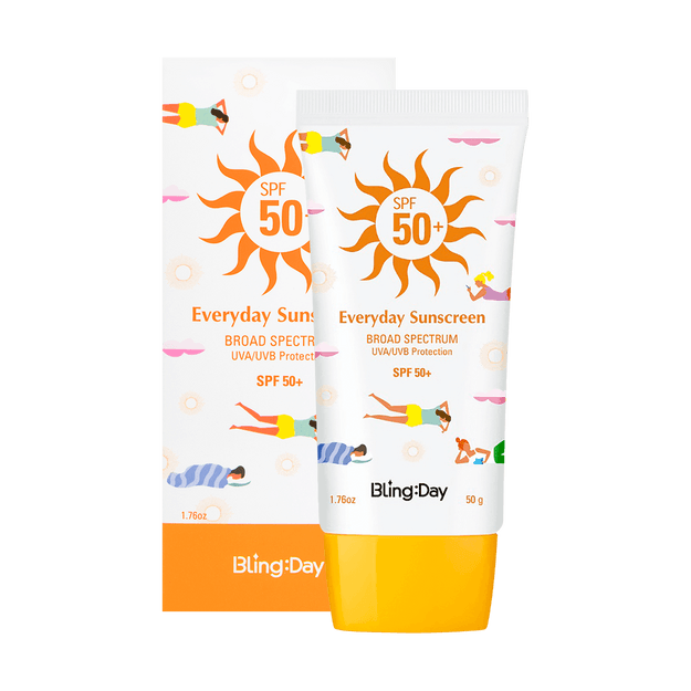 Product Detail - DONGSUNG PHARM BLING:DAY Everyday Sunscreen SPF50+ 50g - image 0