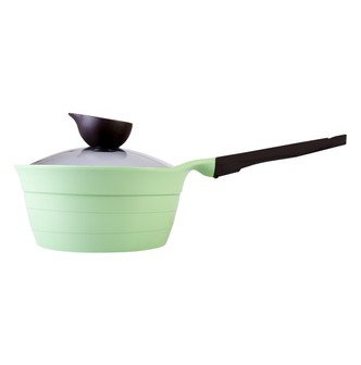 NEOFLAM Nonstick Ceramic Coating Saucepan with Handle Glass Lid Included 7