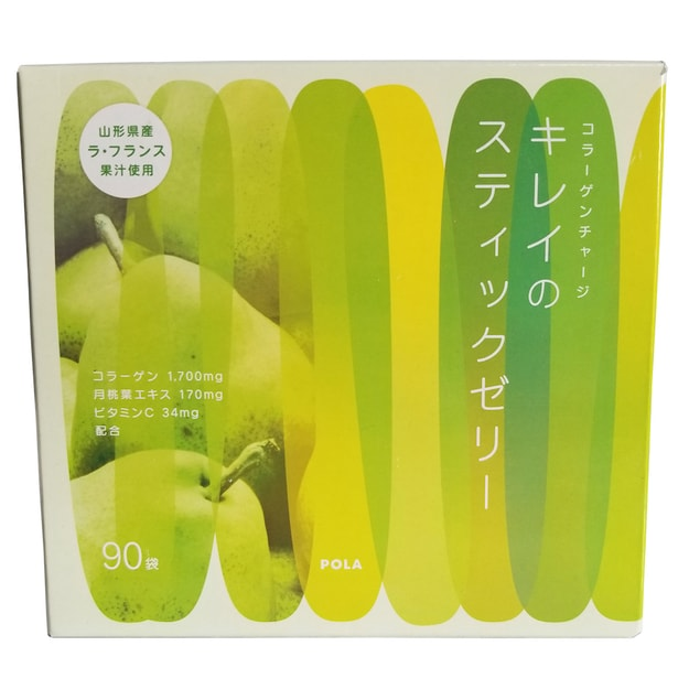 POLA Collagen Fiber pear Jelly 90 Bags