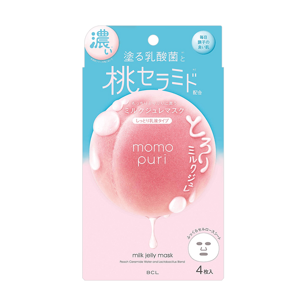 Product Detail - MOMO PURI Jelly Mask 4pcs - image  0