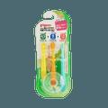 PIGEON 贝亲||婴幼儿乳牙牙刷||【练习阶段1&2&3】 3支装