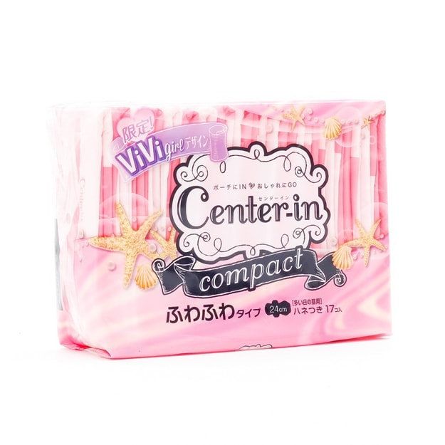 Product Detail -  UNICHARM CENTER-IN Sanitary Napkins 24cm 17pc - image 0