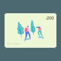 亚米电子礼卡 价值$200