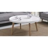 聚兴家具 咖啡桌 白色一件
