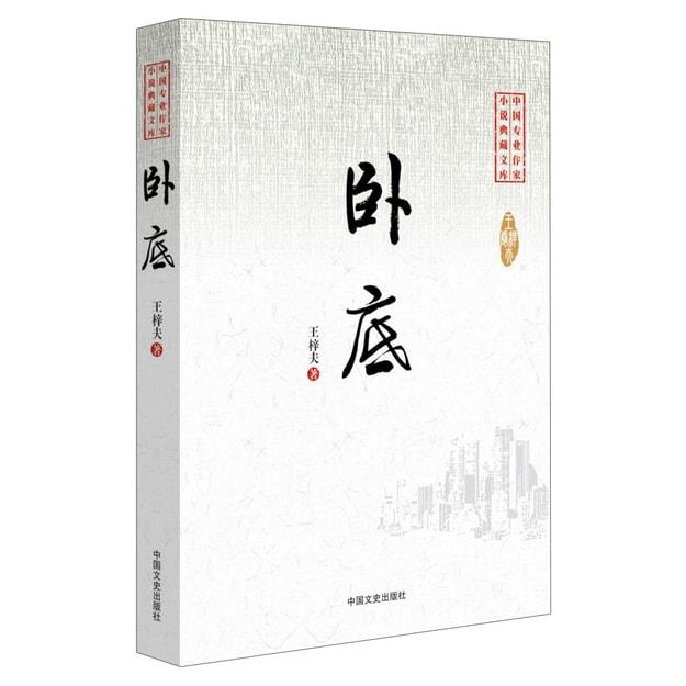 商品详情 - 中国专业作家小说典藏文库:卧底 - image  0