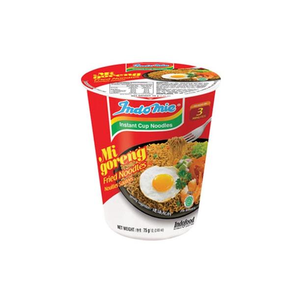 商品详情 - 【马来西亚直邮】印度尼西亚INDOMIE营多 印尼炒面杯面 75g - image  0