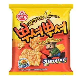 韩国OTTOGI不倒翁 PPUSHU PPUSHU干脆面 香辣芝士味 90g