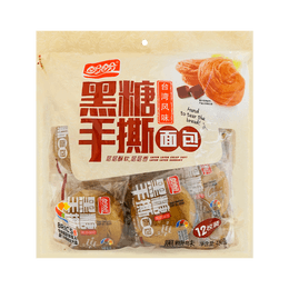 PANPAN Bread Roll Brown Sugar Flavor 480g 12pc