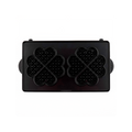 Japan Vitantonio Stainless Steel Non-stick Heart Waffles Baking Mold Plates for Baker 2pcs