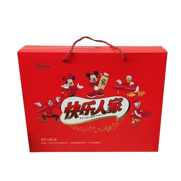 商品详情 - 迪士尼 快乐人家饼干礼盒 720G - image  0