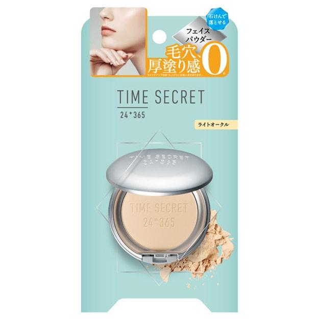 商品详情 - 日本TIME SECRET 时光秘密新款24th防晒遮瑕矿物蜜粉饼 SPF50+ PA++++ 自然色 7.5g - image  0