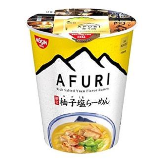 NISSIN AFURI Limited Salted Yuzu Flavor Ramen 120g