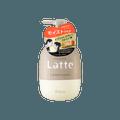 日本KRACIE嘉娜宝 MA&ME LATTE 氨基酸温和保湿护发素 490ml 苹果牡丹香
