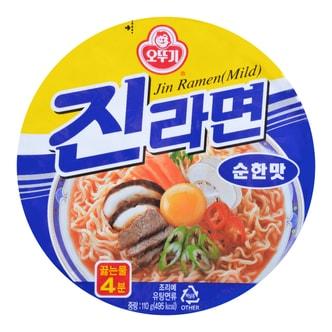 韩国OTTOGI不倒翁 金拉面方便面 杯面 微辣 110g