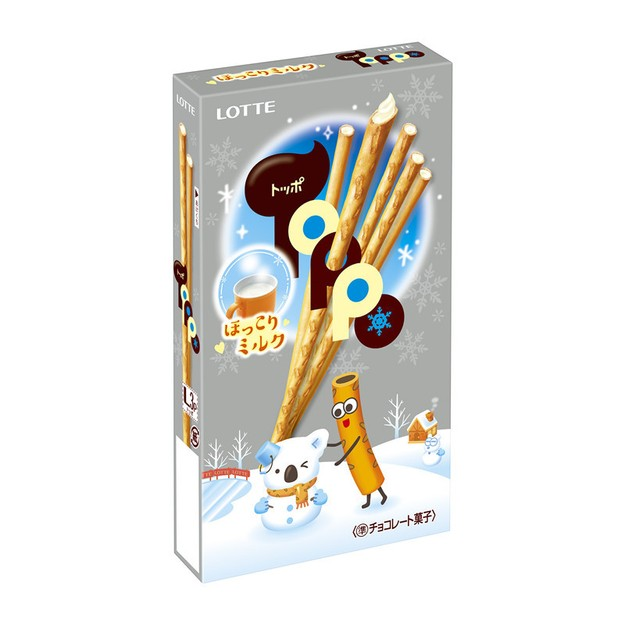 Product Detail - LOTTE Halloween Limited Milk Sticks 2bags - image 0
