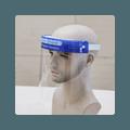 【面部防疫】防疫透明面罩 护目防疫 隔离飞沫 全方位防护 消毒后可重复使用