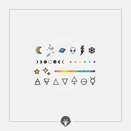 @BECOME Tattoo Stickers Mini suit One Piece