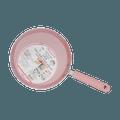 三箭牌Triarrow 千层糕薄饼不粘锅平底锅煎锅 22cm #粉色