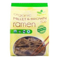 BIG GREEN Organic Millet&Brown Ramen 4 Pieces 280g