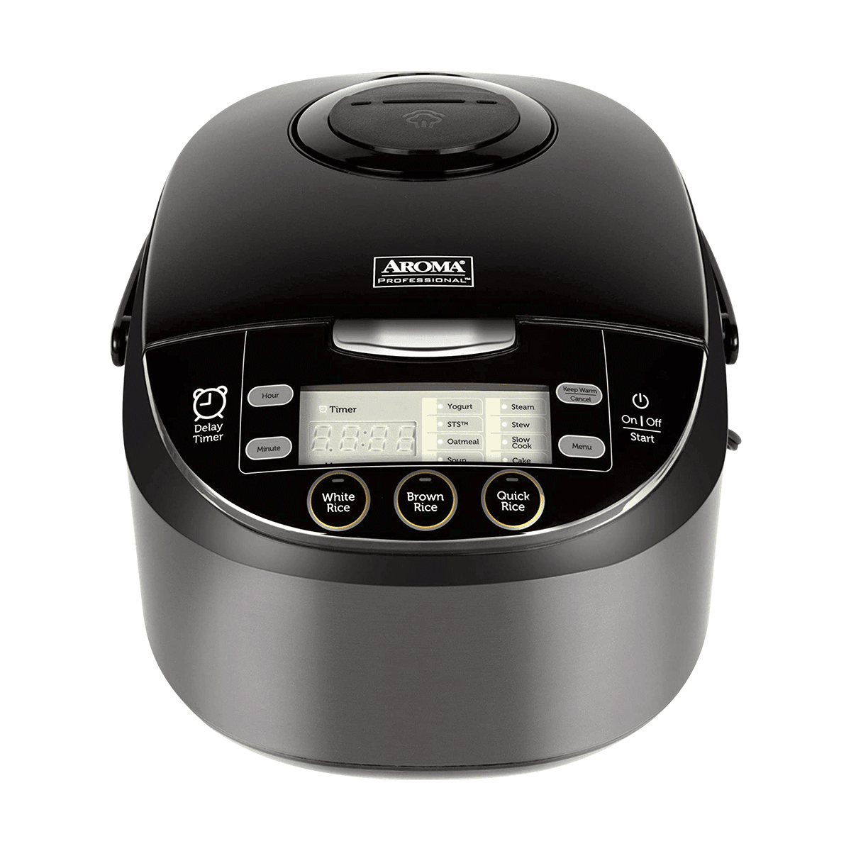 Yamibuy.com:Customer reviews:AROMA Multi-Function Digital Display Rice Cooker 12 Cup Cooked Rice ARC-6106AB  (5 Year Mfg Warranty)