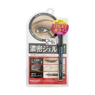 日本BCL BROWLASH EX 24小时防水眼线笔 黑色