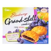 韩国CW 夹心派 蓝莓口味 14份入 273g