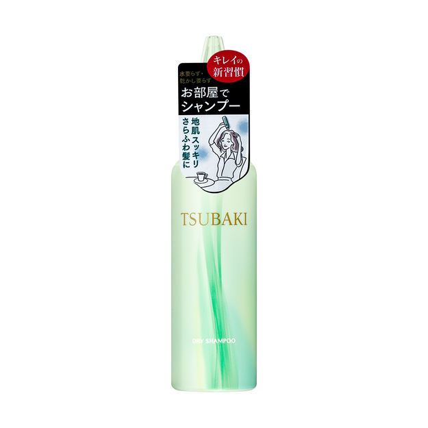 Product Detail - SHISEIDO FT TSUBAKI Dry Hair Shampoo 180ml - image 0