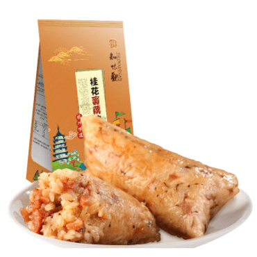 ZHIWEIGUAN Sweet Rice Dumpling With Candied Lotus Root And Osmanthus 200g