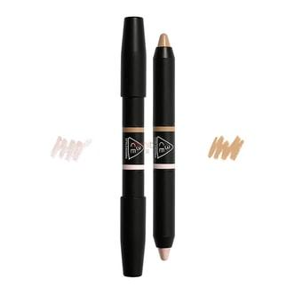 韩国3CE 双色修容遮瑕蜡笔 #04阴影+高光 单支入