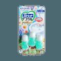 KOBAYASHI 小林制药||马桶开花洁厕凝胶||清爽森林与花香型 7.5g×3瓶