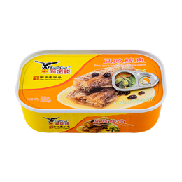 鹰金钱 橄榄油豆豉鲮鱼 中华老字号 100g