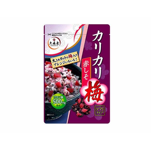 商品详情 - 【日本直邮】OHMORIYA大森屋 梅子拌饭料 40g - image  0