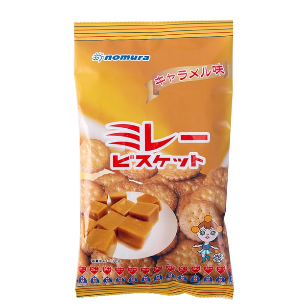Product Detail - NOMURA Mire Biscuit Caramel 110g - image 0