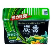 KOKUBO Charcoal Refrigerator Vegetable Use Deodorizer 150g