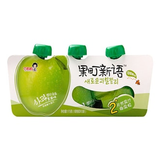 CLEVER MAMA Fruit Jelly Apple 195g