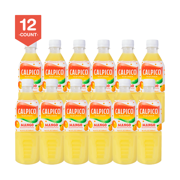 Product Detail - 【Value Set】CALPICO Mango Naturally Artificially Flavored Non Carbonated Soft Drink 500ml  Pack of 12 - image 0