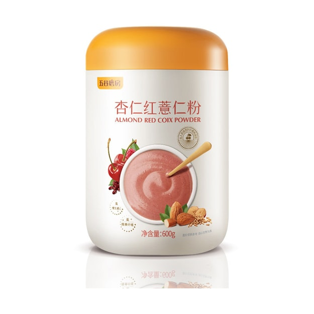 Product Detail - WUGUMOFANG Almond Red Coix Powder 600g - image  0
