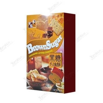 台湾老杨 低脂低卡方块酥 黑糖补血 120g