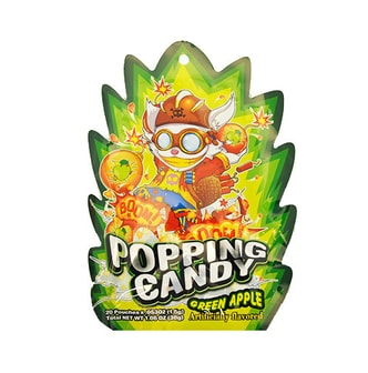 POPPING CANDY 爆炸跳跳糖 青苹果味 20包入