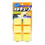 日本小林制药 超洁净海绵擦 含橙油 6枚入